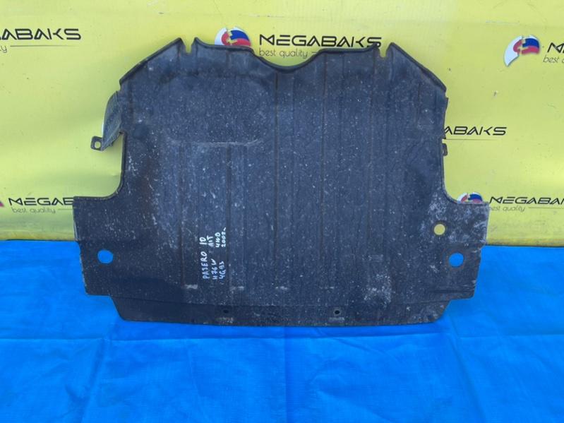 Защита двигателя Mitsubishi Pajero Io H77W 4G93 (б/у)