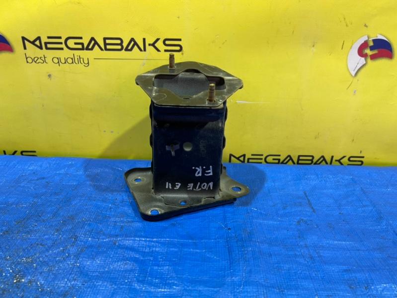 Крепление жесткости бампера Nissan Note E11 переднее правое (б/у)