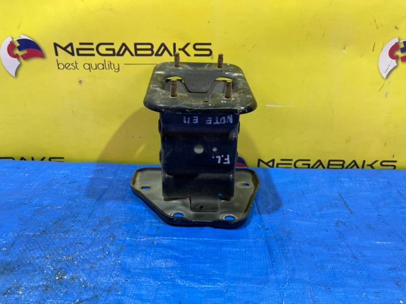 Крепление жесткости бампера Nissan Note E11 переднее левое (б/у)