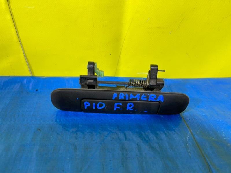Ручка двери Nissan Primera P10 передняя правая (б/у)