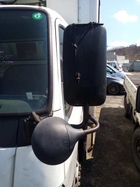 Зеркало Mitsubishi Canter FE658G 4D35 1997 левое (б/у)