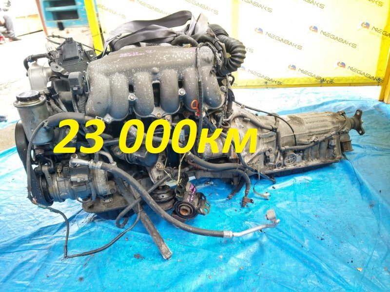 Двигатель Toyota Aristo JZS147 2JZ-GE 1992 0082251 (б/у)