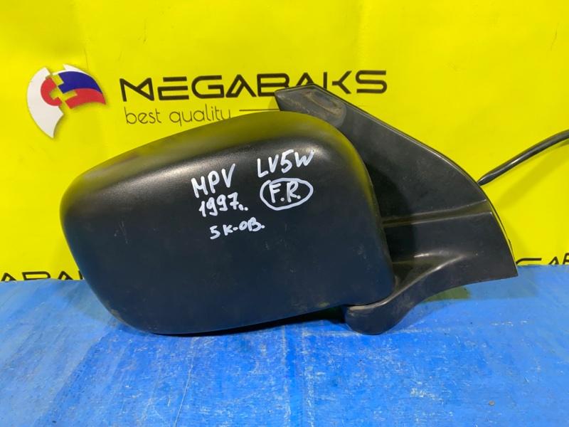 Зеркало Mazda Mpv LV5W правое (б/у)
