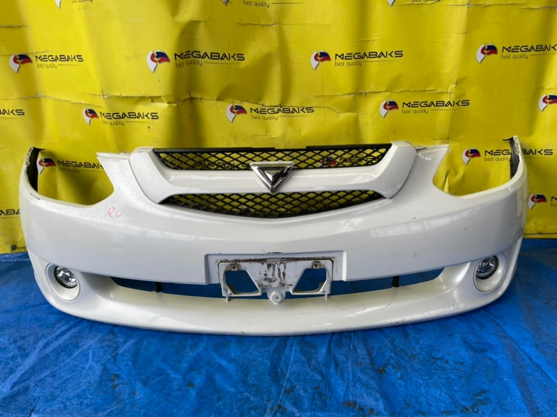 Бампер Toyota Caldina AZT240 передний I MODEL (б/у)