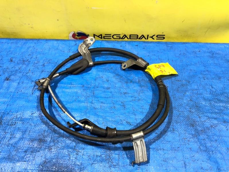 Тросик ручника Subaru Impreza GP7 задний левый (б/у)