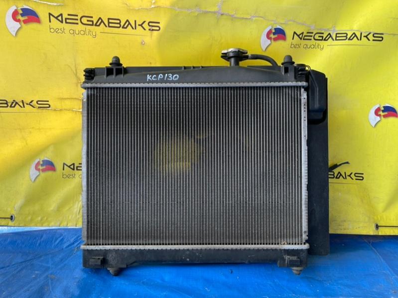 Радиатор основной Toyota Vitz NSP130 1NR-FE (б/у)