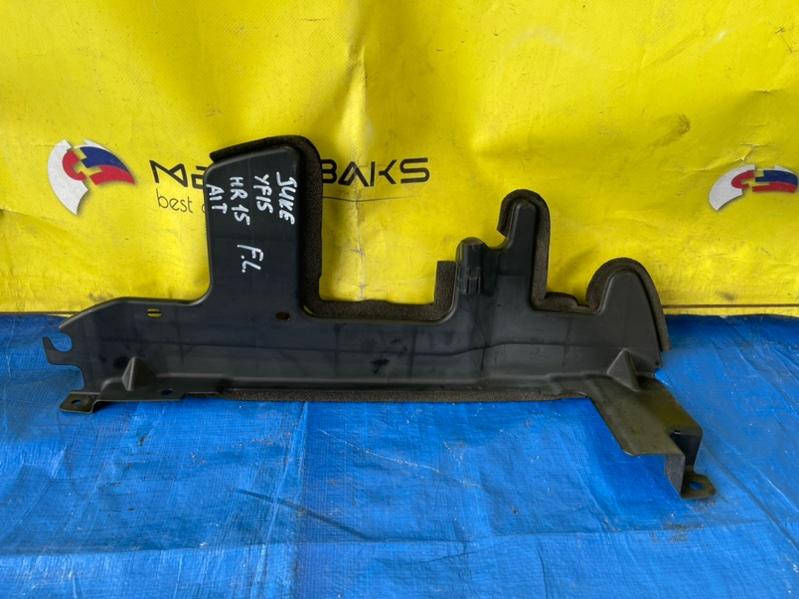 Защита радиатора Nissan Juke YF15 HR15DE левая (б/у)