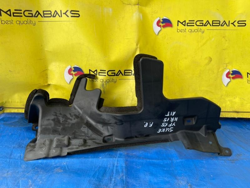 Защита радиатора Nissan Juke YF15 HR15DE правая (б/у)