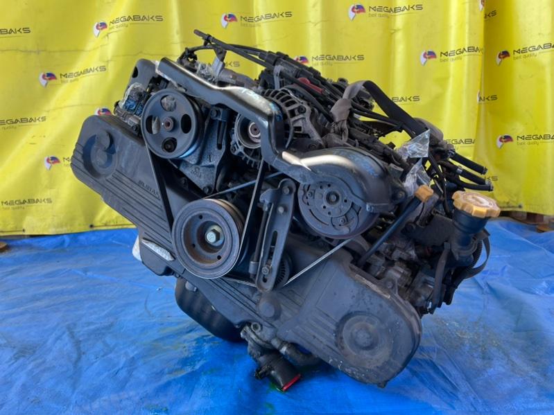 Двигатель Subaru Forester SG5 EJ202 2004 C147136 (б/у)