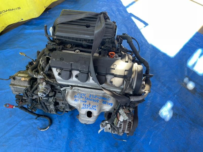 Двигатель Honda Civic ES2 D15B 2002 3800402 (б/у)