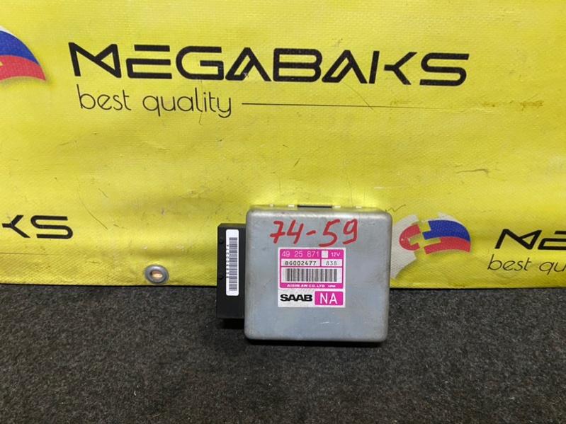 Блок управления акпп Saab 9-3 YS3D B204E 4925871 (б/у)