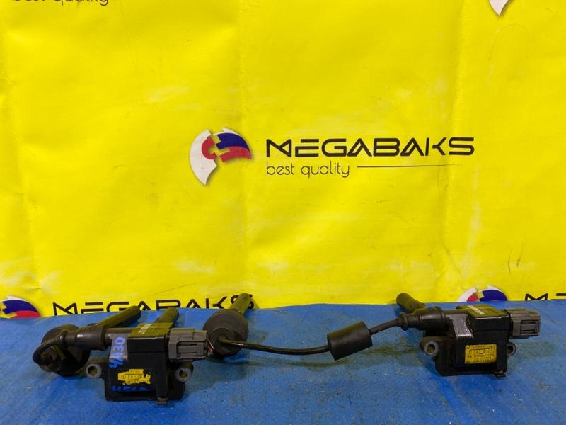 Катушка зажигания Mitsubishi Pajero Mini H56A 4A30 H6T20371 (б/у)