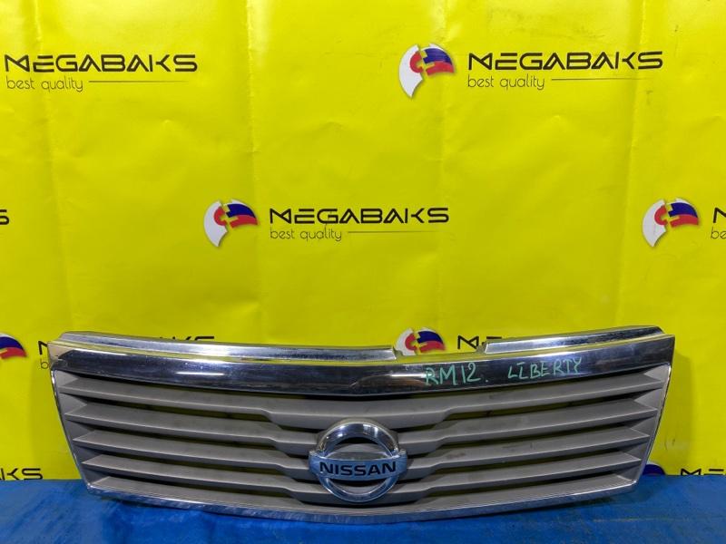 Решетка радиатора Nissan Liberty RM12 II MODEL (б/у)