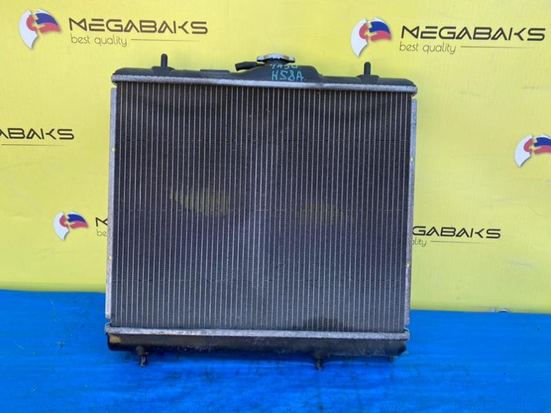 Радиатор основной Mitsubishi Pajero Mini H58A 4A30 (б/у)