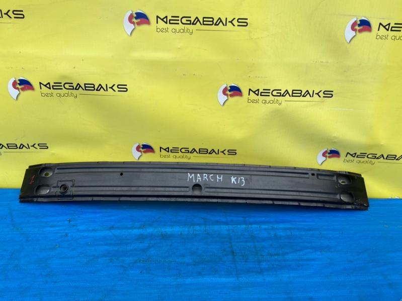 Жесткость бампера Nissan March K13 HR12DE передний (б/у)