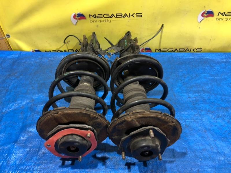 Стойка Nissan Presage TNU31 QR25DE передняя (б/у)