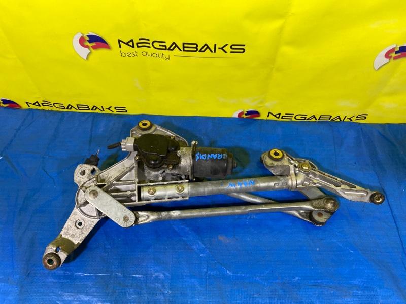 Мотор дворников Mitsubishi Grandis NA4W передний (б/у)