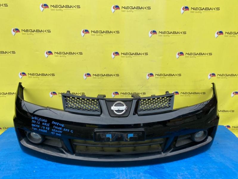 Бампер Nissan Wingroad NY12 передний (б/у)