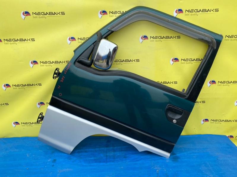 Дверь Subaru Domingo FA8 передняя левая (б/у)