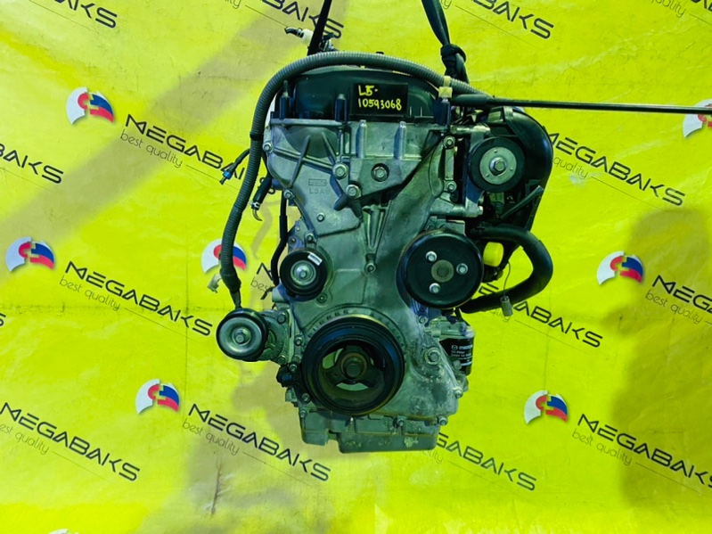 Двигатель Mazda Atenza GH5FS L5-VE 10593068 (б/у)