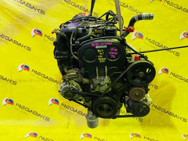 Двигатель Mitsubishi Rvr N61W 4G93 1999 LL2040 (б/у)