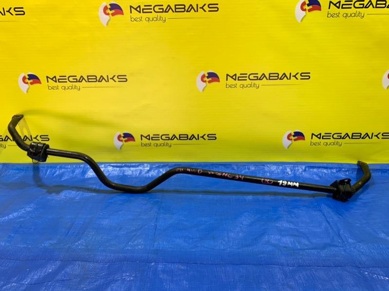 Стабилизатор Nissan Stagea WGNC34 RB25 задний (б/у)