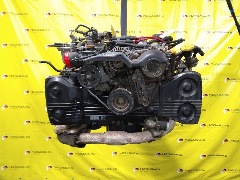 Двигатель Subaru Forester SF5 EJ20G 1998 268221 (б/у)