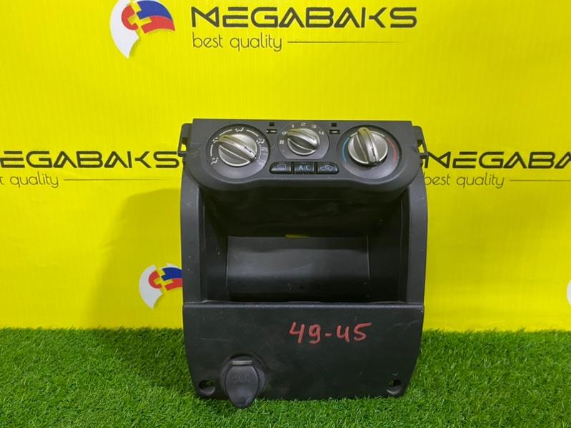 Блок управления климат-контролем Mitsubishi Pajero Mini H58A III MODEL (б/у)