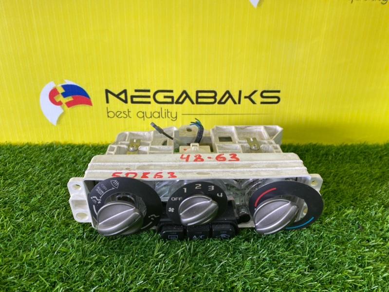 Блок управления климат-контролем Mitsubishi Pajero Mini H58A 4A30 2010 III MODEL (б/у)