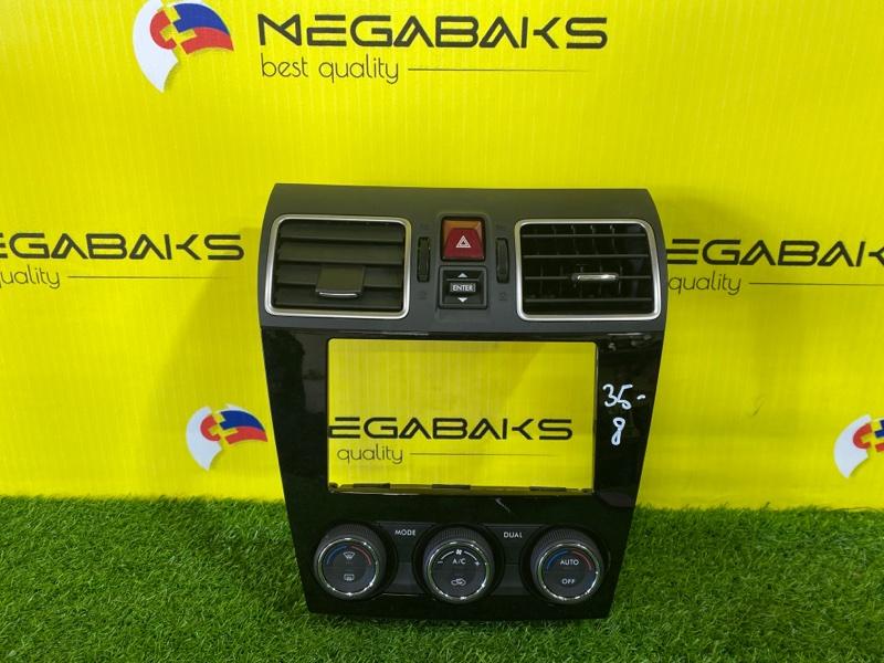 Консоль магнитофона Subaru Impreza Xv GJ2 FB20 II MODEL (б/у)