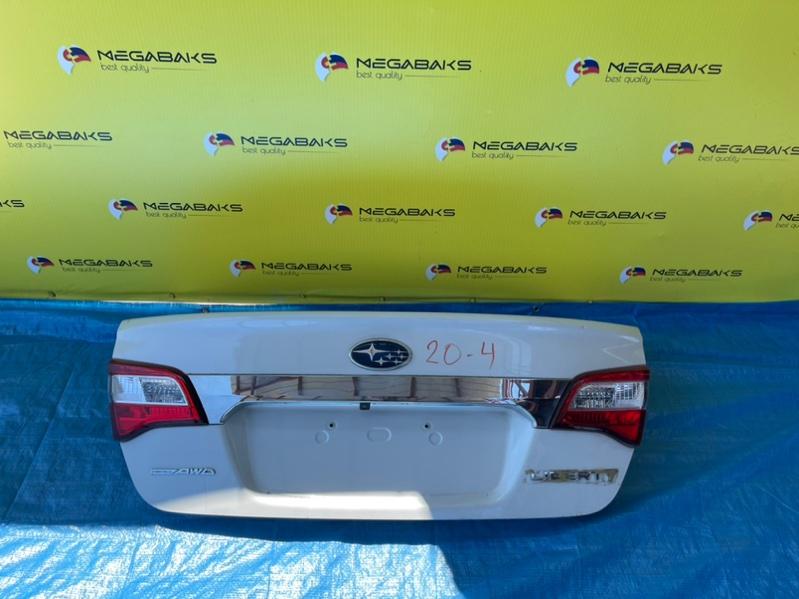 Крышка багажника Subaru Legacy BN9 132-60234, CAMERA, XPOM (б/у)