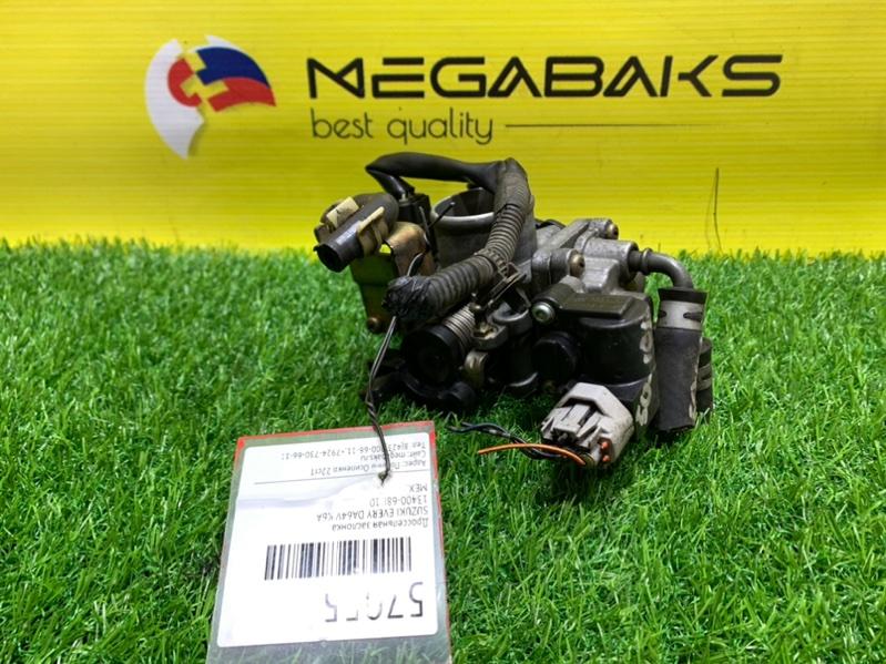 Дроссельная заслонка Suzuki Every DA64V K6A (б/у)