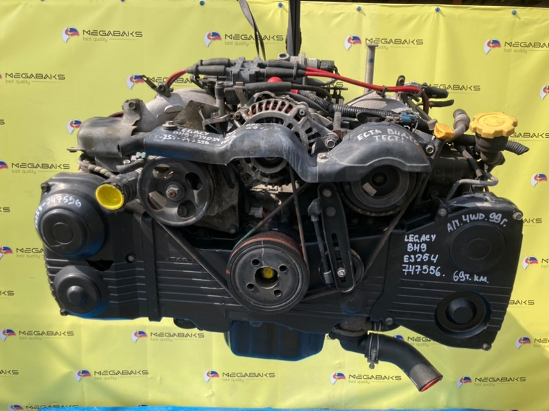 Двигатель Subaru Legacy BH9 EJ254 747556 (б/у)