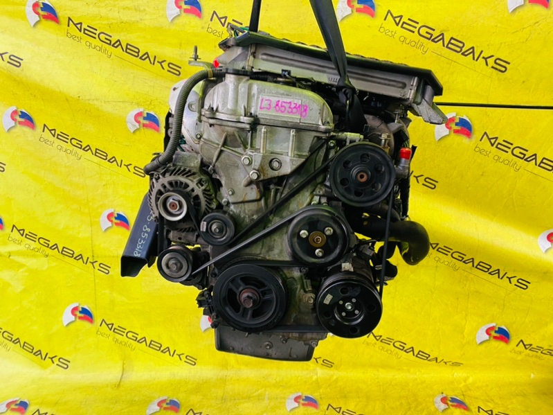 Двигатель Mazda Mpv LY3P L3-VDT 2006 853318 (б/у)