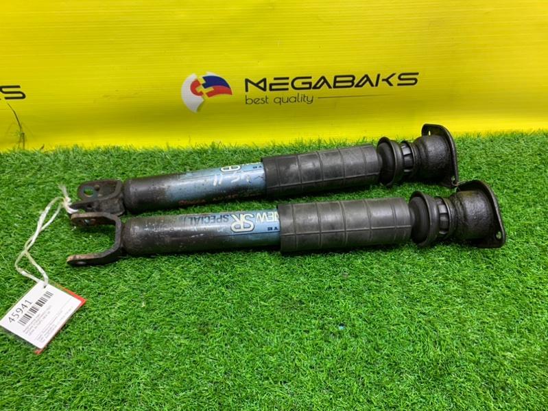 Амортизатор Nissan Stagea NM35 VQ25 задний NEW SR (б/у)