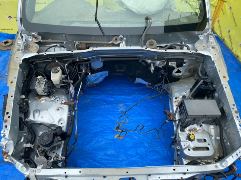 Мотор дворников Toyota Prado TRJ125 2TR-FE передний (б/у)