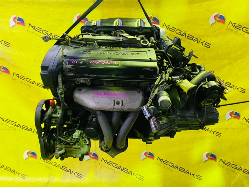 Двигатель Toyota Corolla AE101 4A-GE 1999 M505625 (б/у)