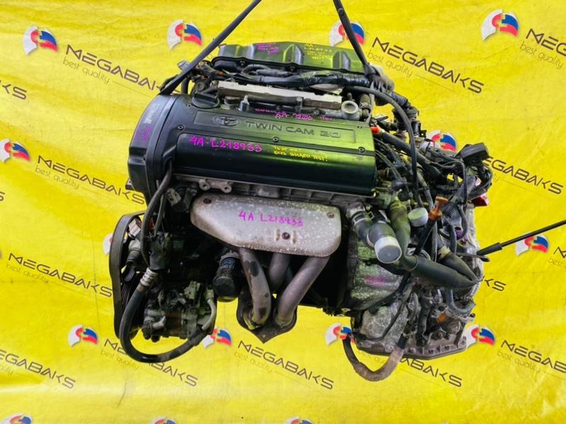 Двигатель Toyota Corolla AE101 4A-GE 1996 L218933 (б/у)