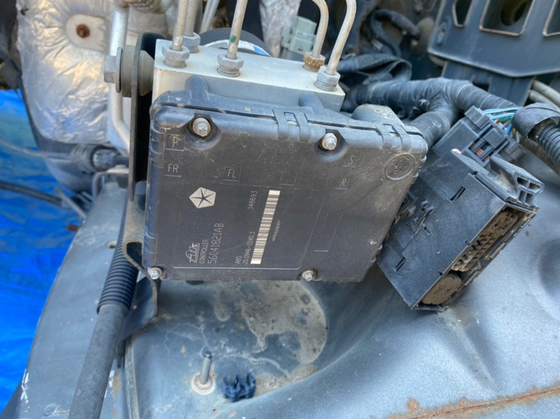 Блок abs Jeep Grand Cherokee WJ EVA 1998 (б/у)