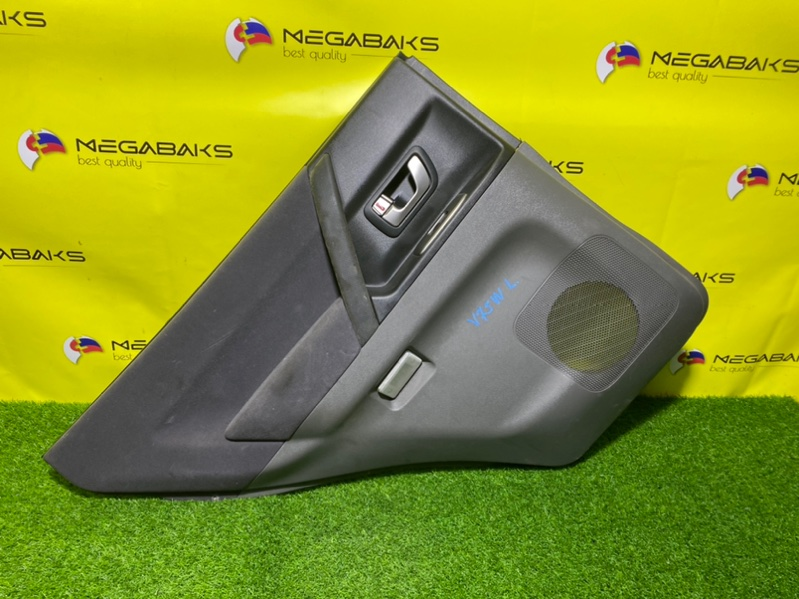 Обшивка дверей Mitsubishi Pajero V75W задняя левая (б/у)