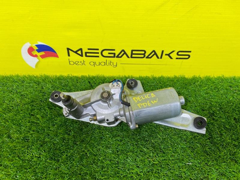 Мотор дворников Mitsubishi Delica PD6W задний (б/у)