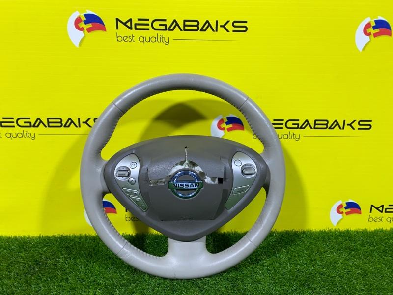 Руль Nissan Leaf ZE0 (б/у)