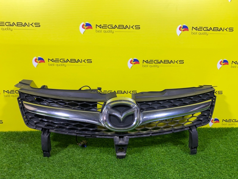 Решетка радиатора Mazda Mpv LY3P CAMERA (б/у)