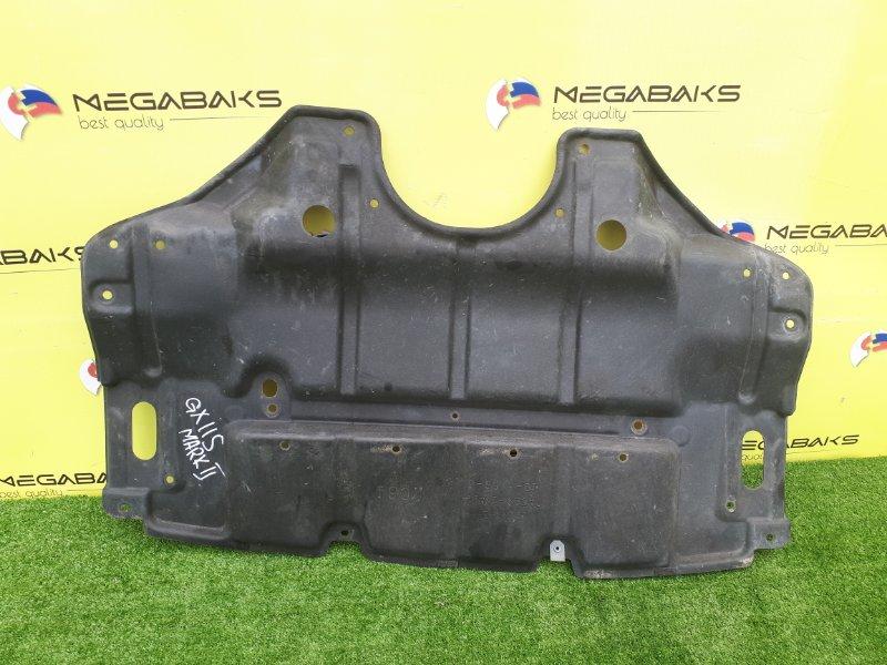 Защита двигателя Toyota Mark Ii GX115 1G-FE передняя (б/у)