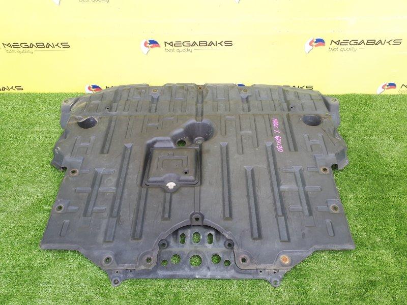Защита двигателя Toyota Mark X GRX130 передняя (б/у)
