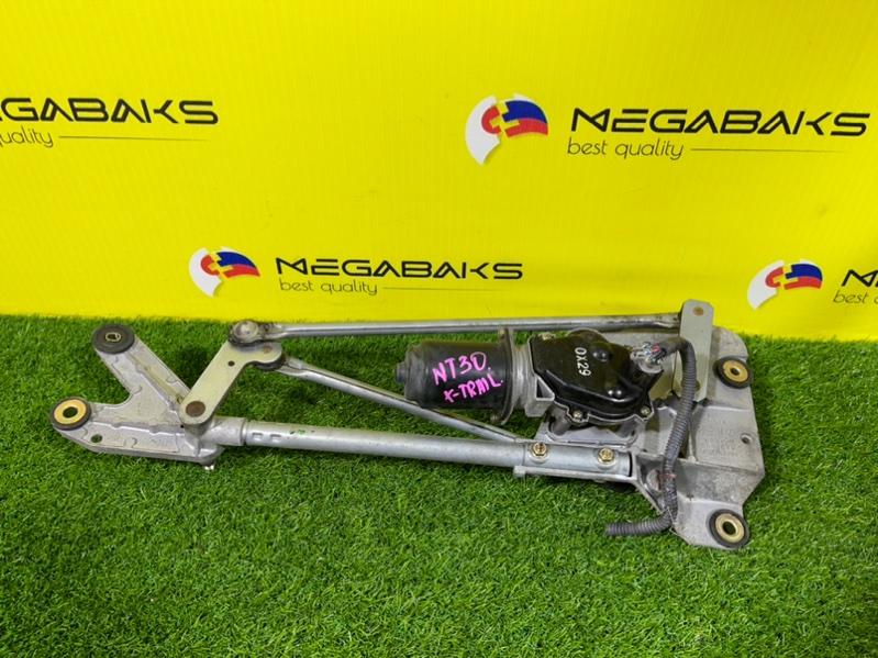Мотор дворников Nissan X-Trail NT30 передний (б/у)