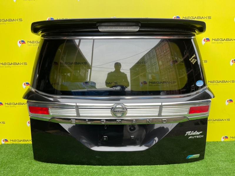 Дверь задняя Nissan Elgrand TE52 RIDER (б/у)