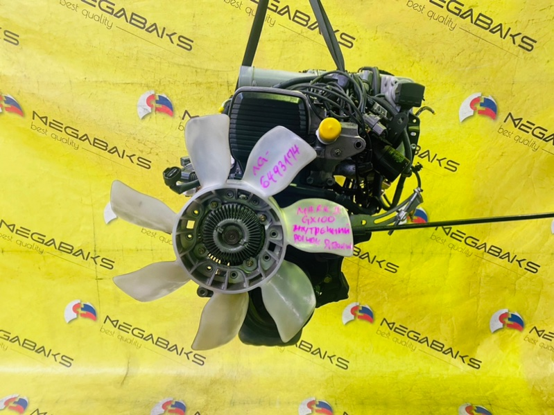 Двигатель Toyota Mark Ii GX100 1G-FE 1998 6493174 (б/у)