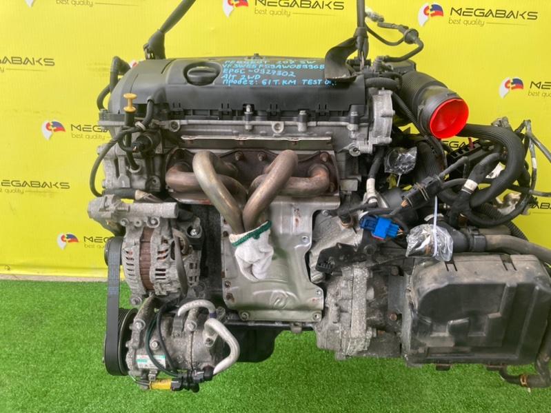 Двигатель Peugeot 207 WK EP6 2010 0927302 (б/у)