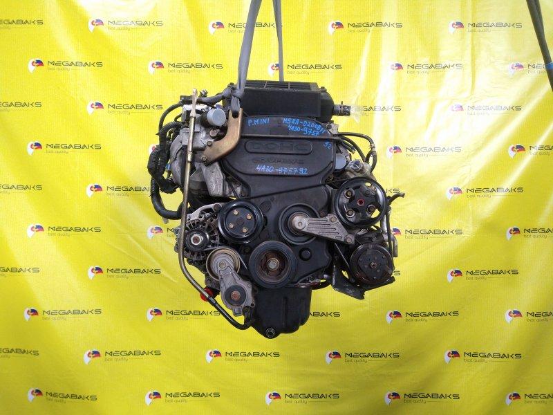 Двигатель Mitsubishi Pajero Mini H58A 4A30T 975792 (б/у)